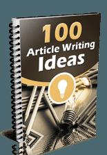 plr4wp Vol 1 bonus-100 Article Writing Ideas