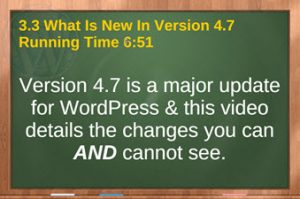 Video 3.3 whats new in WordPress 4.7