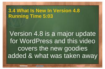 plr for wordpress volune 01 vid 3.4 Whats New In Version 4.8