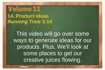 PLR 4 WordPress Vol 11 Video 14 Product Ideas