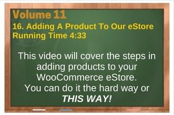 PLR 4 WordPress Vol 11 Video 16 Adding A Product To Our eStore