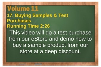 PLR 4 WordPress Vol 11 Video 17 Running A Test Purchase (& Buying A Sample)
