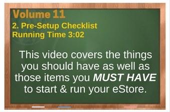 PLR 4 WordPress Vol 11 Video 2 Pre-Setup Checklist