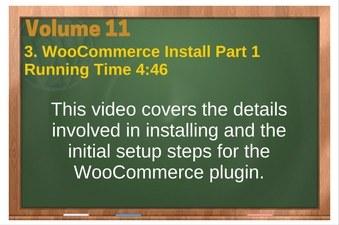 PLR 4 WordPress Vol 11 Video 3 WooCommerce Install Part 1