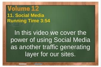 PLR 4 WordPress Vol 12 Video 11 Social Media