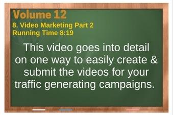 PLR 4 WordPress Vol 12 Video 8 Video Marketing Part 2