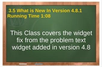 plr for wordpress volune 01 vid 3.5 Whats New In Version 4.8.1