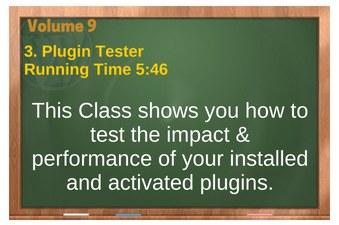 plr4wp Vol 9 video 3 Plugin Tester