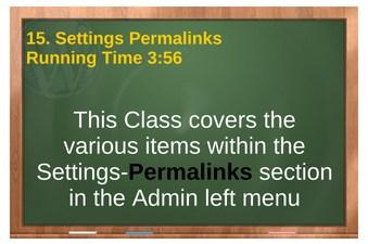 plr4wp Vol 1 video 15 Settings Permalinks