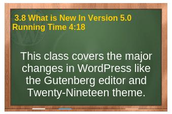 plr4wp Vol 1 video 3.8 Whats New In WordPress 5.0