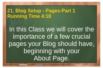 plr4wp Volume 1 Video 21 Blog Setup Part 1 - Pages