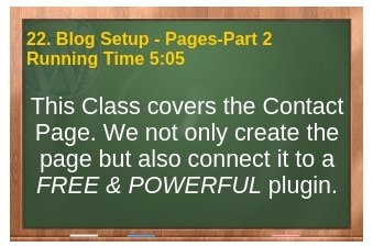 plr4wp Volume 1 Video 22 Blog Setup Part 2 - Pages