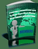 PLR for WordPress Volume 13 Bonus-Starting a Membership Site To Make Even More Money