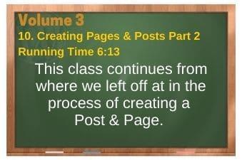 plr4wp Vol 3 Video 10 plr4wp Vol 3 Video 9 Creating Pages & Posts Part 2