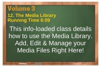 plr4wp Vol 3 Video 12 The Media Library