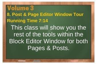 plr4wp Vol 3 Video 8 Post & Page Editor Tour