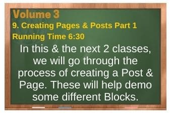 plr4wp Vol 3 Video 9 Creating Pages & Posts Part 1