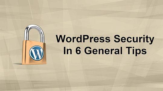 PLR4WP WordPress Security in 6 General Steps