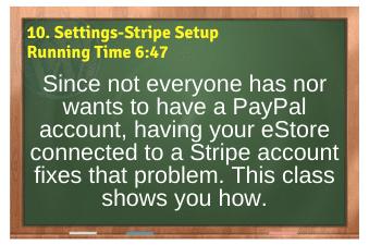 WordPress eCommerce PLR4WP Vol11 Video 10-Settings-Stripe Setup