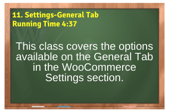 WordPress eCommerce PLR4WP Vol11 Video 11-Settings-General Tab