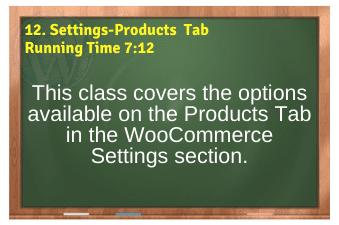 WordPress eCommerce PLR4WP Vol11 Video 12-Settings-Products Tab
