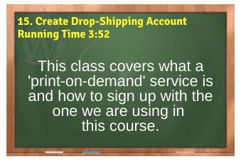 WordPress eCommerce PLR4WP Vol11 Video 15-Create Drop-Shipping Account