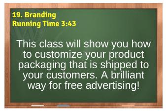 WordPress eCommerce PLR4WP Vol11 Video 19-Branding