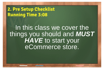 WordPress eCommerce PLR4WP Vol11 Video 2-Pre Setup Checklist