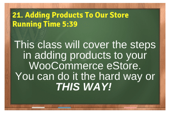 WordPress eCommerce PLR4WP Vol11 Video 21-Adding Products To Our Store