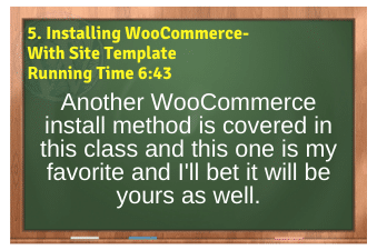 WordPress eCommerce PLR4WP Vol11 Video 5-Installing WooCommerce-With Site Template